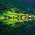 88 nature-forest-green-summer-village-house-lake-reflection[1]