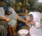 ĐGH. rửa chân